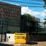 caçamba de retirada de entulho Jardim Campos Elísios