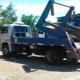caminhão caçamba Cidade Santos Dumont