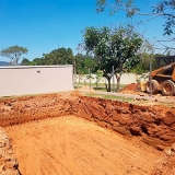 contratar serviço de Escavação de baldrame Chácara São Felipe