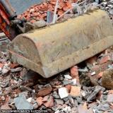 demolição e remoção de entulho contratar Residencial Ibi Aram
