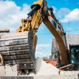 demolição e retirada dos materiais Retiro