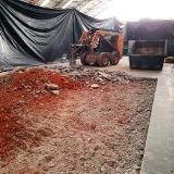 demolição e terraplanagem contratar Chácara Portão do Castanho