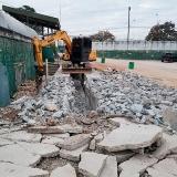 demolições e terraplanagens Parque Amarylis