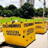 entulho caçamba Terra Brasilis