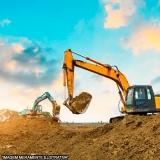 Escavação mecanizada contratar serviço Residencial Cravos