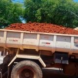 onde acho terraplanagem com caminhão de terra Fazenda Bomfim