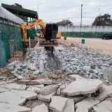 serviço de demolição com maquinas Bairro Mina