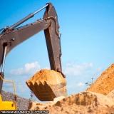 serviço de terraplenagem e escavação Chácara São Francisco