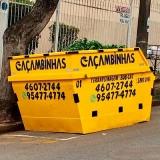 tira entulho preço Jardim Guanabara