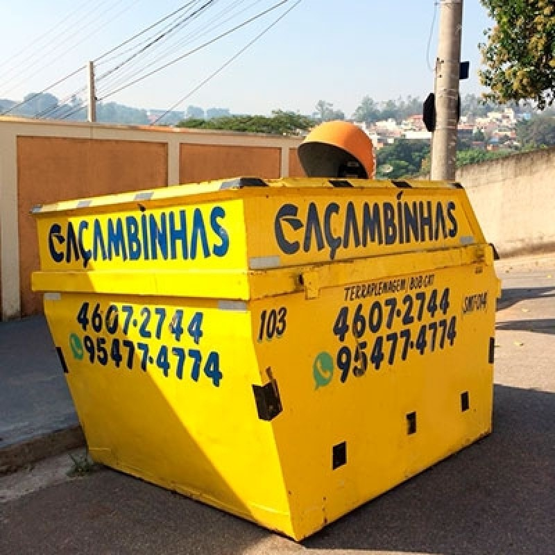 Coletar Caçamba para Entulho Vila Rio Branco - Aluguel de Caçamba
