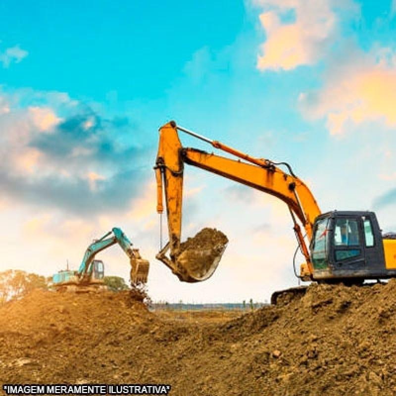 Contratar Serviço de Escavação com Retroescavadeira Chácara Pai Jacó - Escavação de Piscina