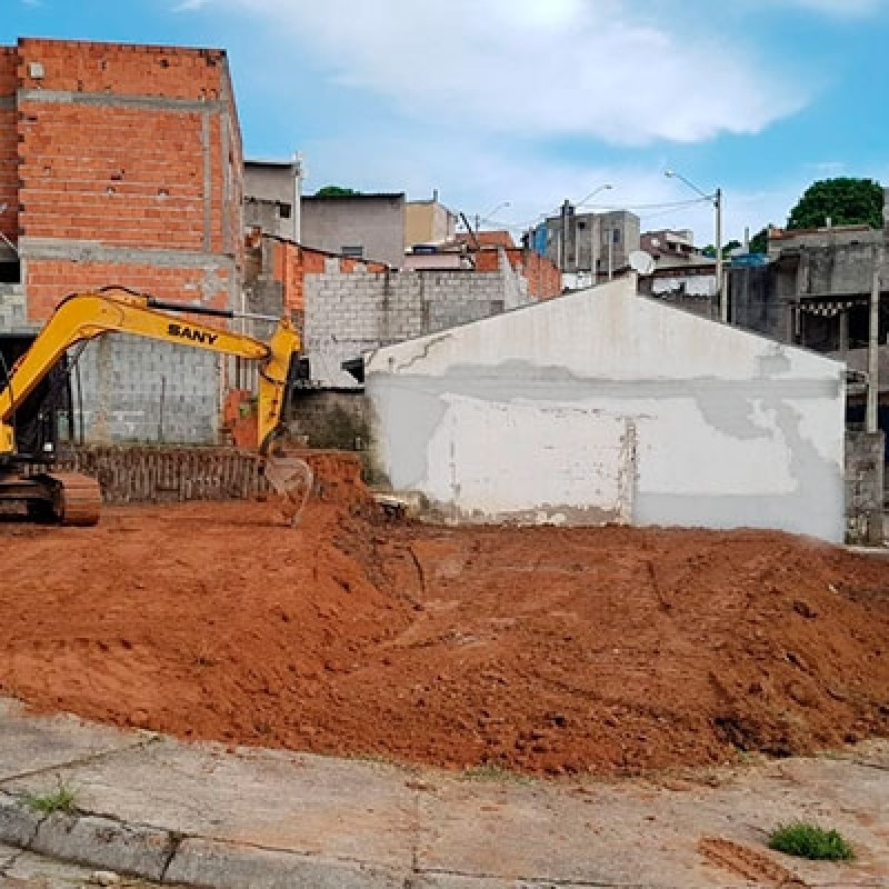 Contratar Serviço de Escavação e Terraplanagem Copacabana - Escavação e Transporte