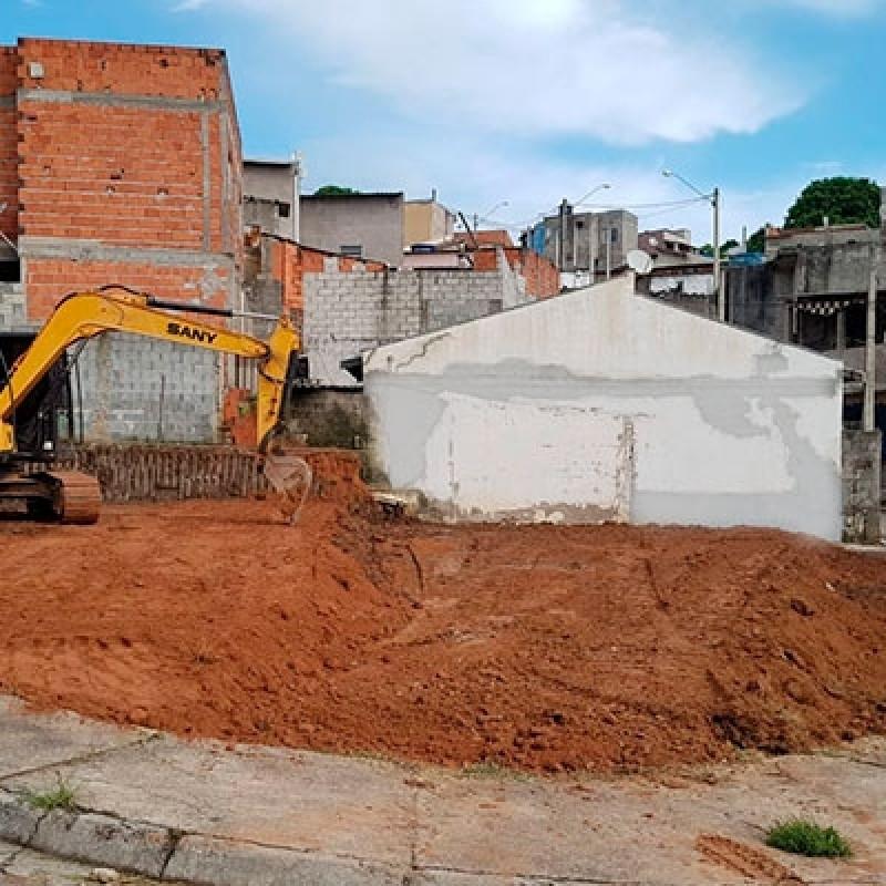 Contratar Serviço de Furação de Brocas Mini Escavadeira Jardim Anhanguera - Escavação e Transporte