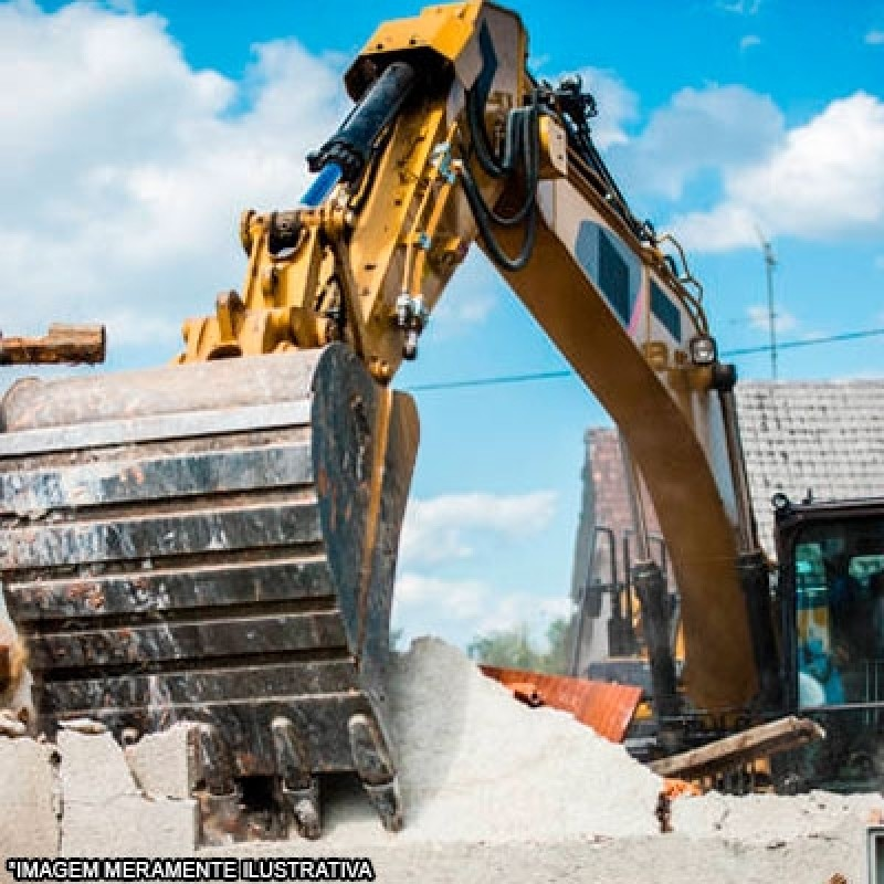 Demolição e Retirada dos Materiais Colinas do Japi - Demolição Mecanizada