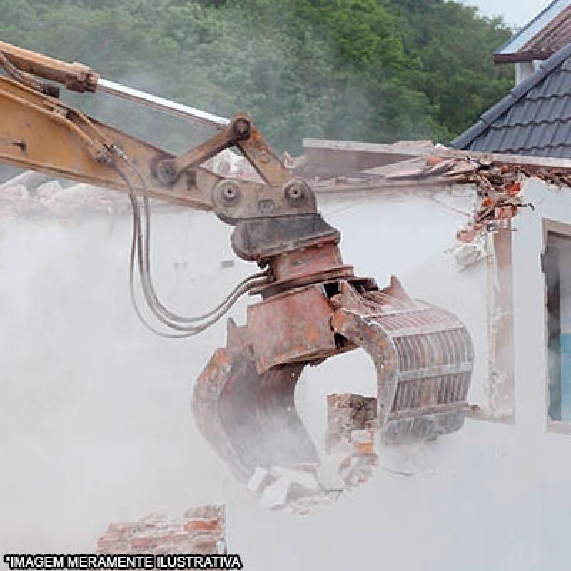 Demolição e Terraplanagem Centro - Demolição Industrial