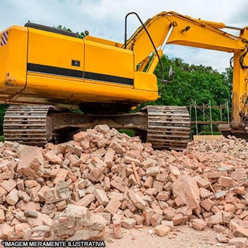 Empresa Que Faz Demolição e Escavação Liberdade - Demolição Mecanizada