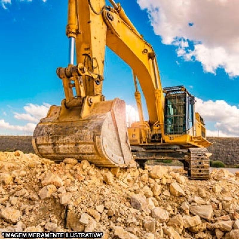 Escavação com Retroescavadeira Contratar Serviço Portal do Paraíso II - Escavação e Terraplanagem
