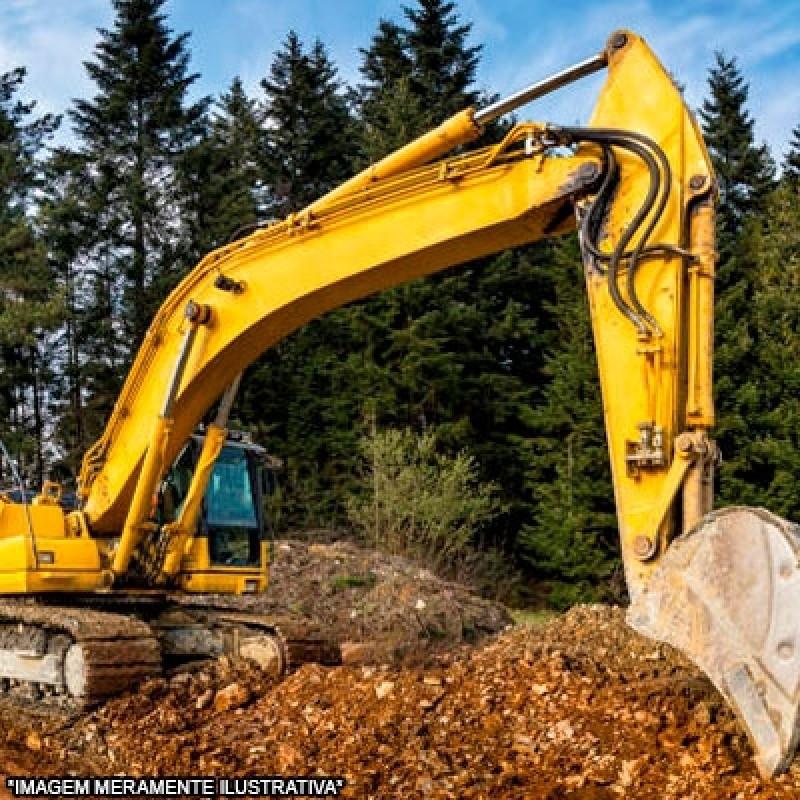 Escavação e Transporte Contratar Serviço Chácara das Videiras - Escavação Mecanizada