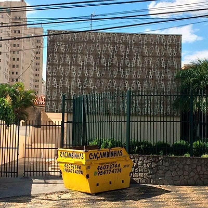 Pequena Retirada Entulho Terra Brasilis - Pequena Retirada Entulho