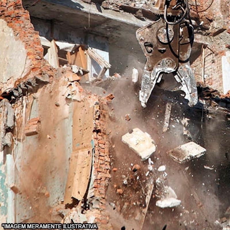 Serviço de Demolição de Casa São Roque das Chaves - Demolição e Terraplanagem