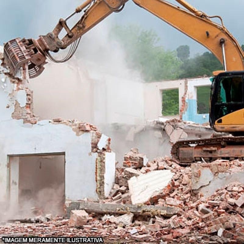 Serviço de Demolição e Escavação Jardim Tarumã - Demolição Mecanizada