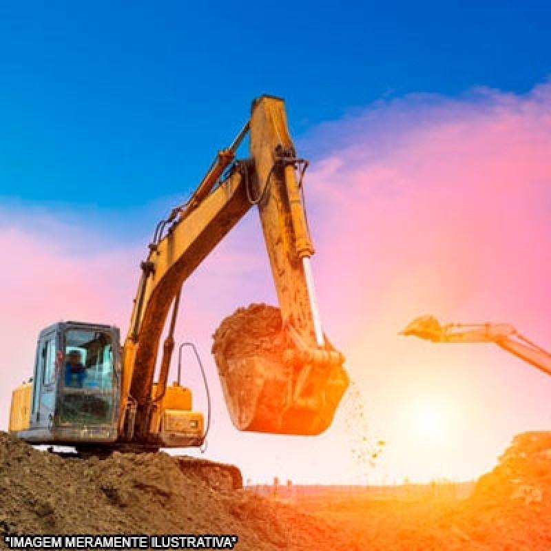 Serviço de Escavação com Retroescavadeira Cecap - Escavação de Vala