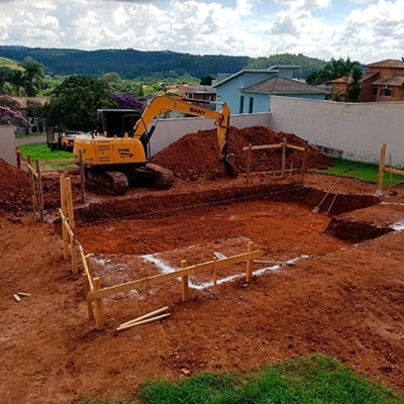 Serviço de Escavação de Baldrame Parque São Luiz - Escavação de Piscina