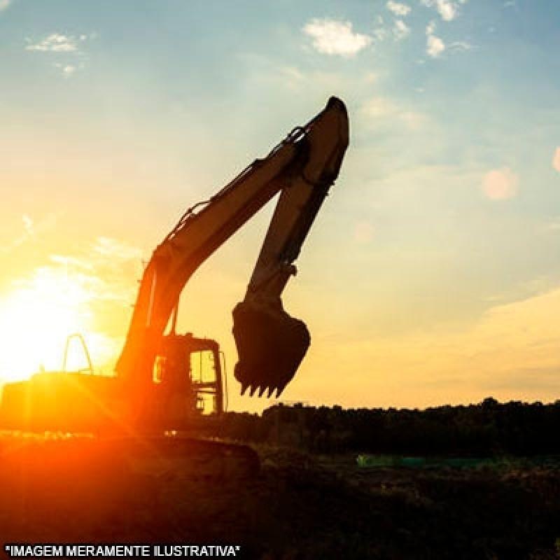 Serviço de Escavação de Piscina com Escavadeira Jardim Primavera - Escavação de Vala