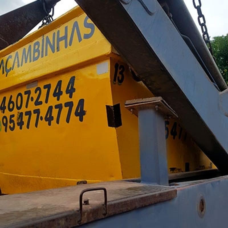 Serviço de Locação Caçamba de Coleta Ponte Alta - Locação Caçamba Retirar Entulho