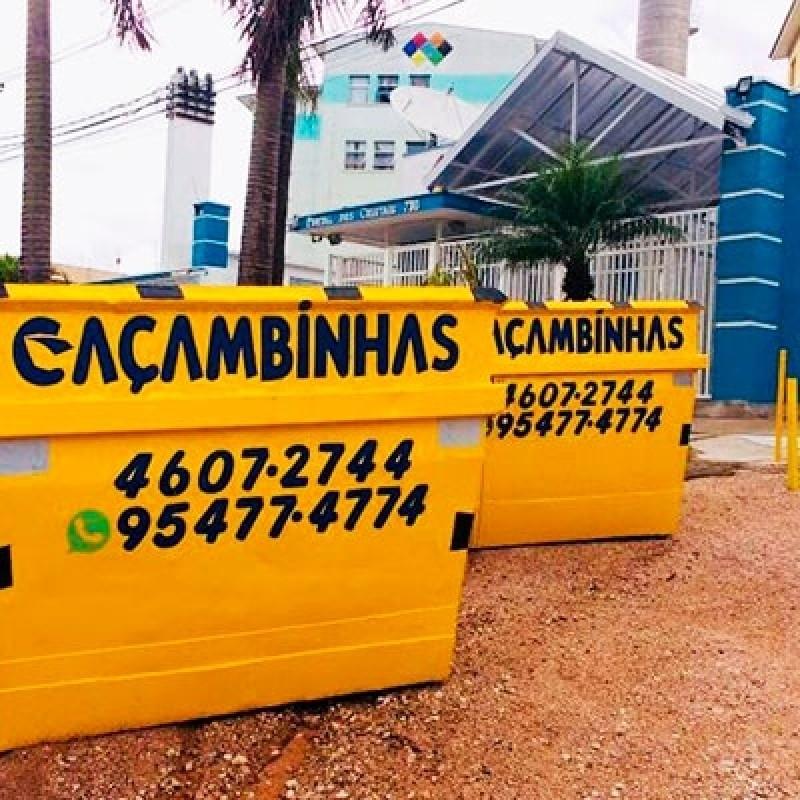 Serviço de Locação de Caçamba de Entulho Village Morro Alto - Locação Caçamba de Coleta