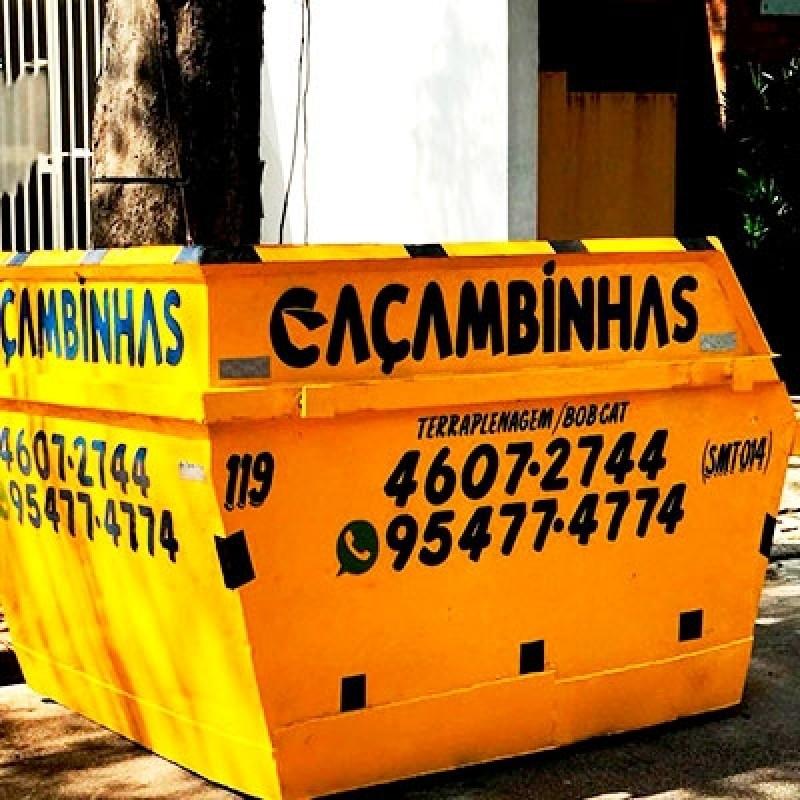 Serviço de Locação de Caçamba Entulho Gramadão - Locação Caçamba de Coleta