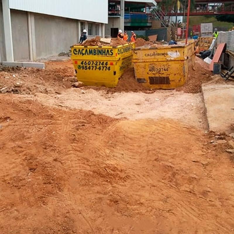 Terraplenagem Limpeza de Terreno Jardim Santa Bárbara - Cata Entulho