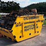 contratar serviço de coletar entulho de obra Parque Residencial Laranjeiras