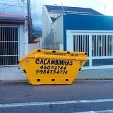 contratar serviço de disk entulho Vila Rio Branco