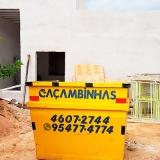 contratar serviço de retirada de entulho Jardim Guiomar