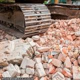 demolição e escavação contratar Loteamento Rio das Pedras