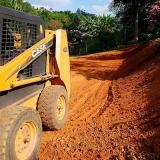 empresa de mini carregadeira com rompedor para terraplanagem Parque Residencial Nove de Julho