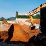 Escavação de valetas contratar serviço Vianelo