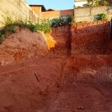 onde faz terraplanagens Cidade Luiza
