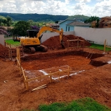 serviço de Escavação de baldrame Parque São Luiz