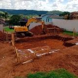 serviço de escavação e terraplanagem Village Morro Alto