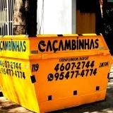 serviço de locação de caçamba entulho Condomínio Residencial Pacaembu Ii
