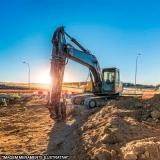 terraplanagem e escavações Parque das Hortências