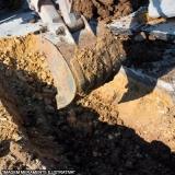 terraplenagem e escavação Quilombo
