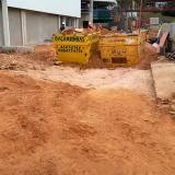 Terraplenagem limpeza de terreno Vila Nambi